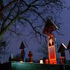 Sapanta, Romania, the Merry Cemetery (!). 2007