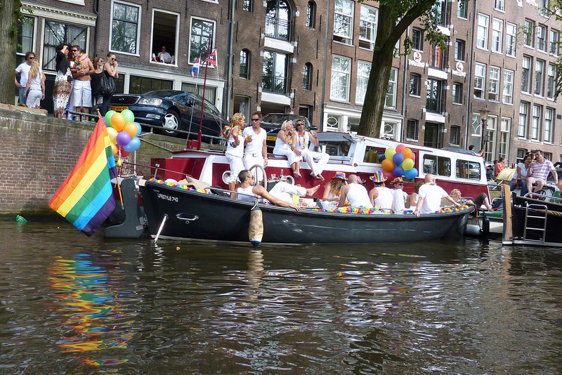 Gay Pride Day participants (August 1, 2009)
