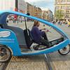 Amsterdam's pedicab
