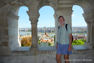 John at the Fishermen's bastion