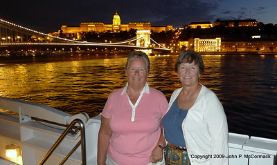 Pat & Nini, first night on the boat