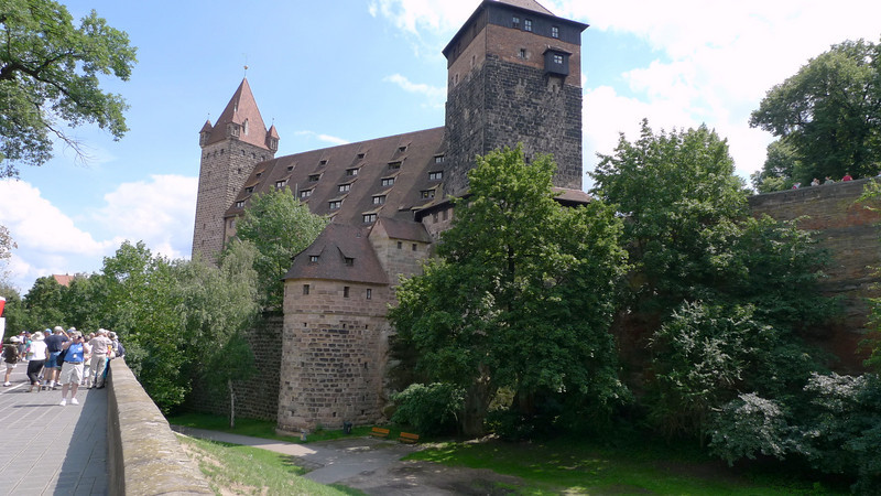 The Imperial castle of Nuremberg, built in the 11th century