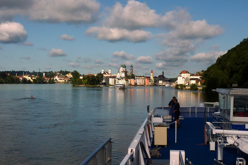 Passau is in Lower Bavaria, known also as the City of Three Rivers, because the Danube is joined there by the Inn from the South, and the Ilz coming out of the Bavarian Forest to the North.