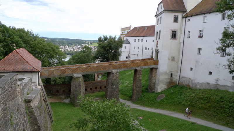 Veste Oberhaus and the former fortress of the Bishop