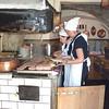 The kitchen staff at the Sausage Kitchen in Regensburg