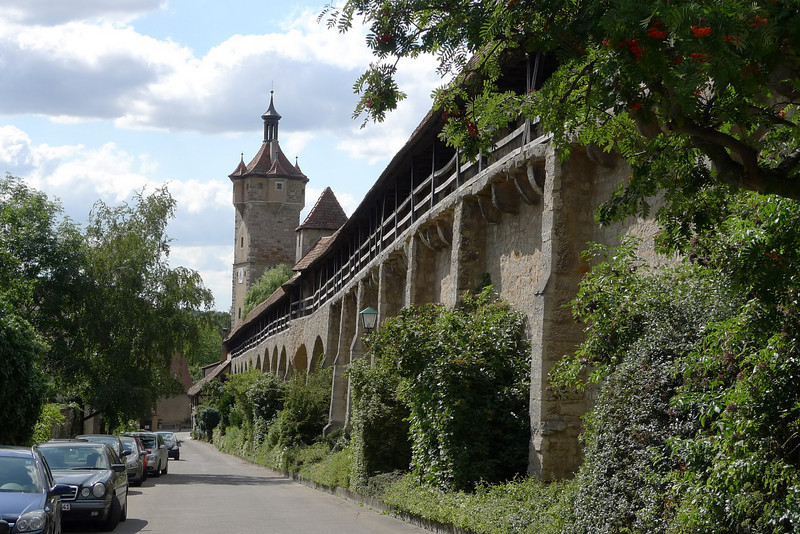 The Great Wall of Rothenburg.