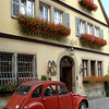 The Romantik Hotel in Rothenburg
