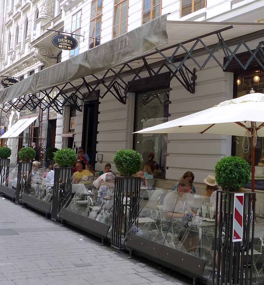 Café Demel, or simply Der Demel, is a famous chocolatier in Vienna. It was founded in 1786 on the Michaelerplatz.
