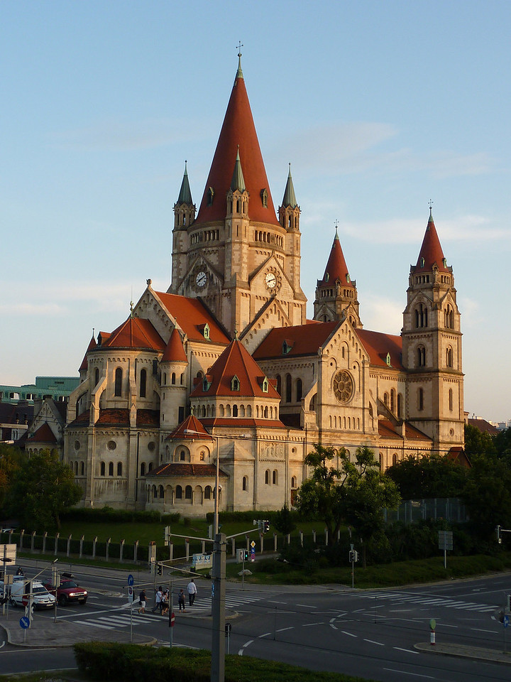 St. Francis of Assisi Church (The Jubilee Church) - built to commemorate the Golden Jubilee of Emperor Franz-Josef I.
