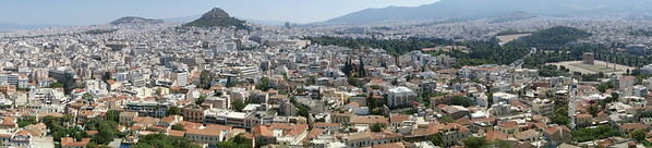 Athens panorama east