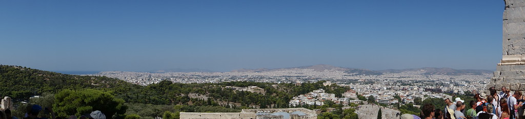 Athens panorama west