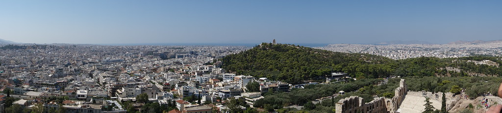 Athens panorama south