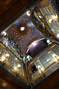 Palau Guell hyperbolic ceiling