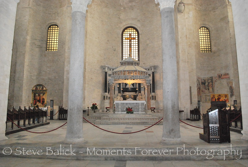 Chapel in a Basilica in Rome, Italy.