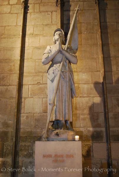 St. Jeanne D'Arc in Notre Dame, Paris.