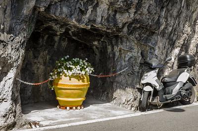 Pot in a cave