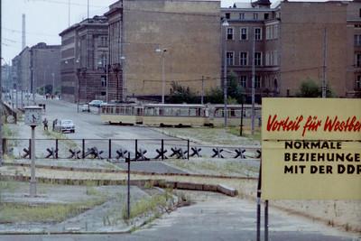 Potsdamer Platz  in East Berlin 1967