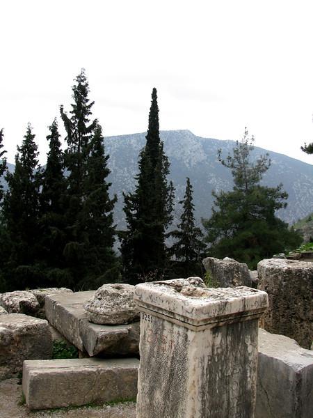 Delphi, Greece January 2008