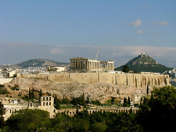 Acropolis Athens, Greece January 2008