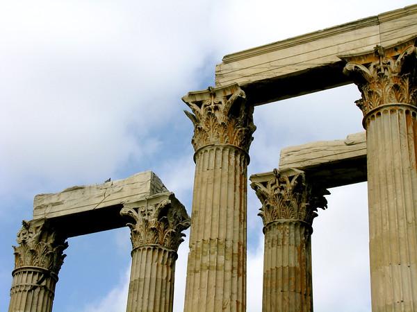 Temple of Zeus Athens, Greece January 2008
