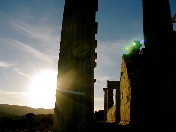 Temple of Aphaia Aegina, Greece January 2008