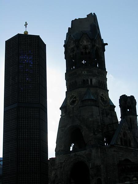 Kaiser Wilhem Gedachtniskirche Berlin, Germany March 2008
