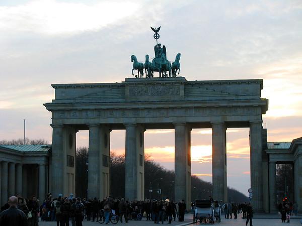 Brandenburg Gate Berlin, Germany March 2008