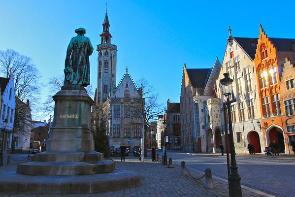 Bruges, Belgium December 2010