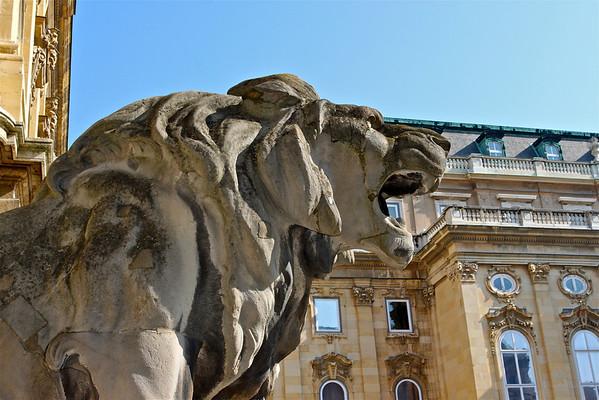 Buda Palace, Budapest Hungary March 2011