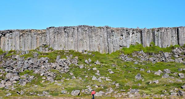 Gerðuberg, basalt columns Iceland August 2011