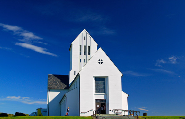 Skálholt church, the ancient seat of the Icelandic bishops