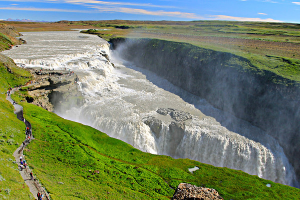 Gullfoss Iceland July 2011