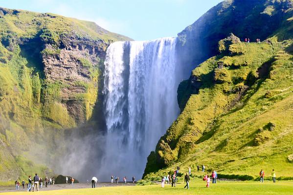 Skogafoss Iceland August 2011