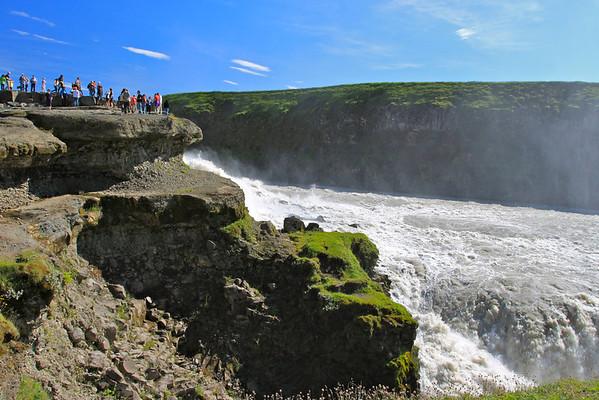 Gullfoss Iceland August 2011
