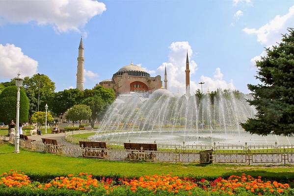 Hagia Sophia Istanbul, Turkey July 2010