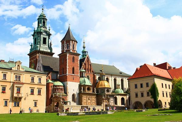 Wawel Castle Krakow, Poland July 2009