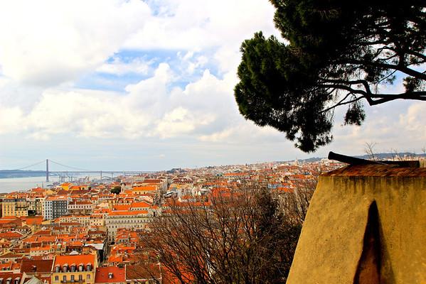 Castelo de Sao Jorge Lisbon, Portugal March 2013
