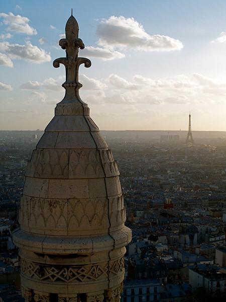 Basilique du Sacre-Coeur Paris, France March 2007