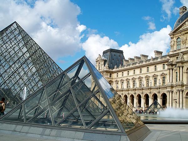 The Louvre Paris, France March 2007