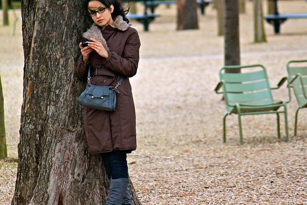 Jardin du Luxembourg Paris, France January 2011