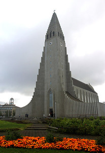 Hallgrimskirkja Reykjavik, Iceland August 2011