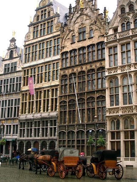 Grote Markt Brussels, Belgium July 2007