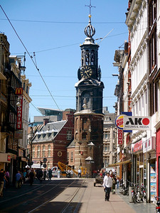 Clock Tower Amsterdam, The Netherlands July 2007