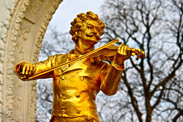 Johann Strauss II monument