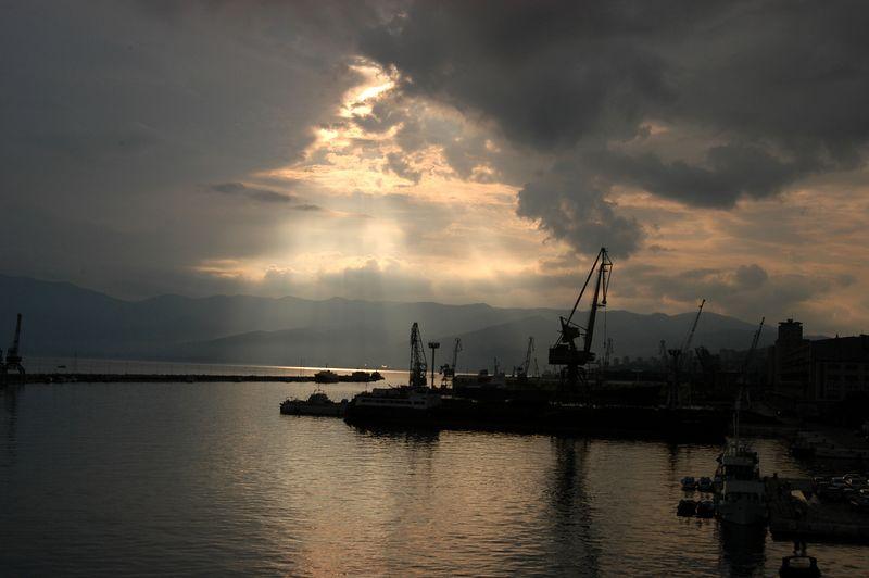 Rijeka Sunset, Coatia