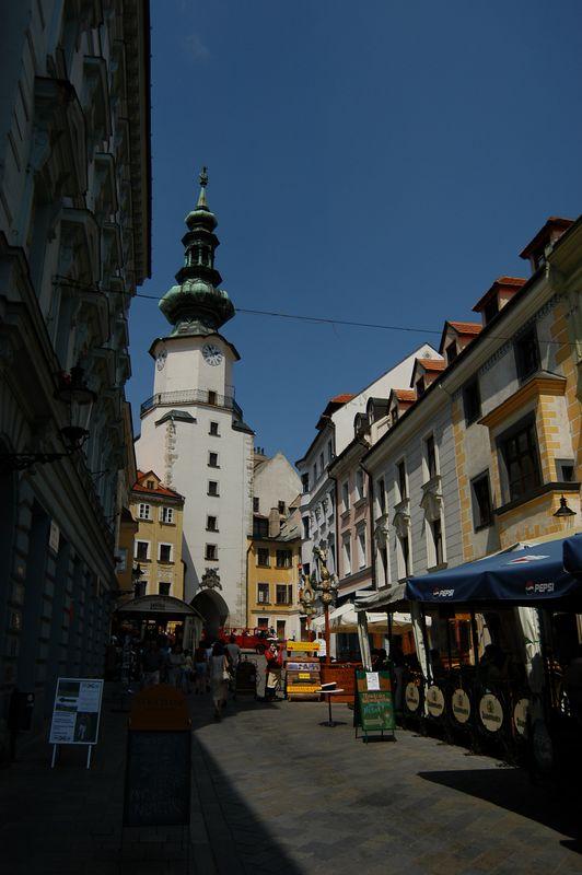Downtown Bratislava, Slovakia