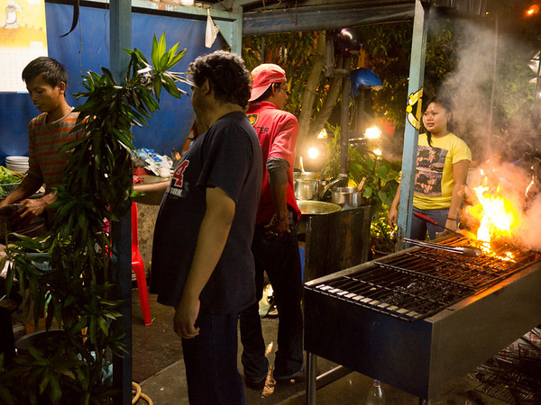 Evening in Batam - Street Fish