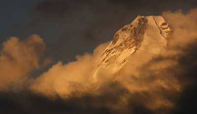 Sunset, Ama Dablam