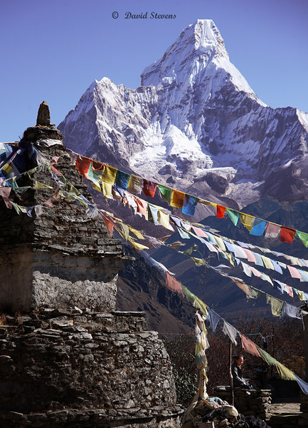 62 Everest prayer flags