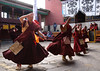 80 Dancing Monks
